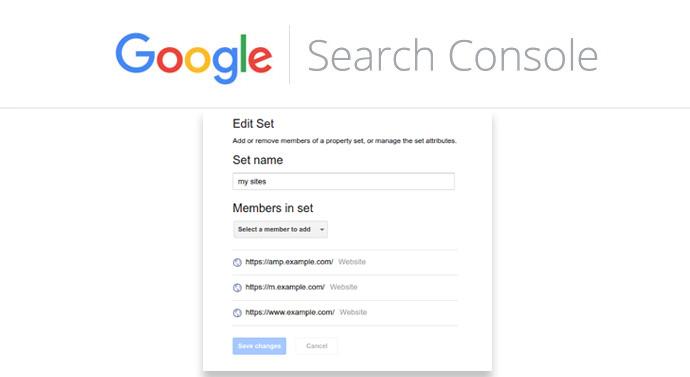 propriété globale Search Console