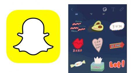 Les Stickers Snapchat arrivent ! Comment les utiliser ?