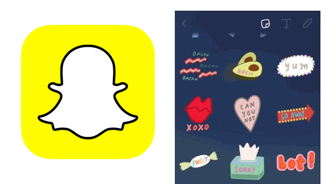 stickers Snapchat