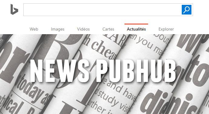 bing news pub hub