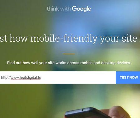 Test My Site : le nouvel outil de speed test par Google !