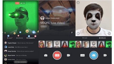 Nouveautés Facebook Live : MSQRD, Live partagés et salles d'attente virtuelles !