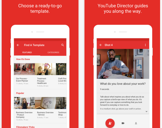 youtube director for business