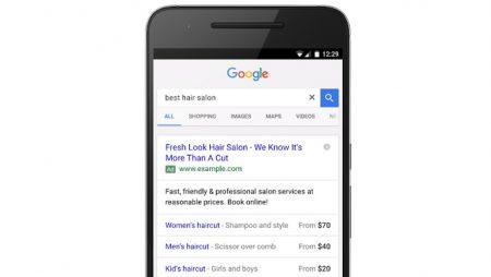 Les extensions de prix arrivent sur les annonces Google Adwords !