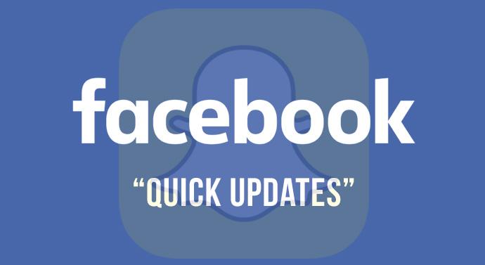 facebook éphémère