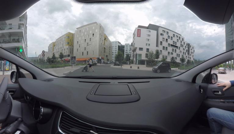 prévention routière vidéo facebook 360