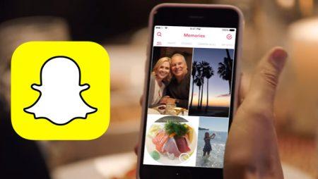 Snapchat Memories, une nouvelle fonctionnalité pour revivre des souvenirs !