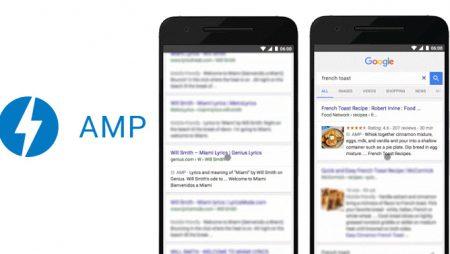 Résultats mobiles : Google va remplacer les pages par leur version AMP !
