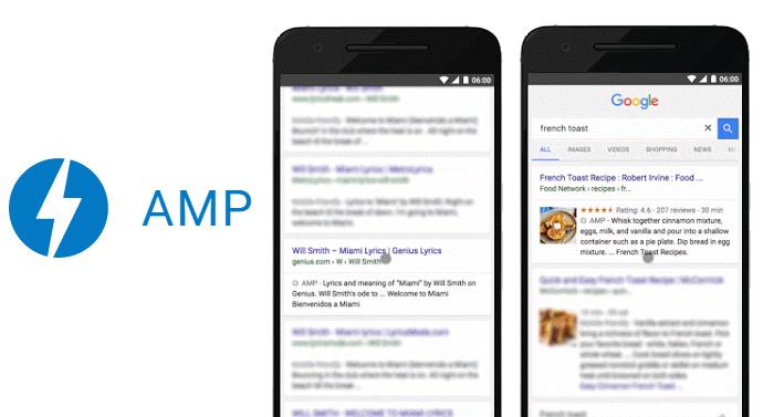 amp resultats mobiles google