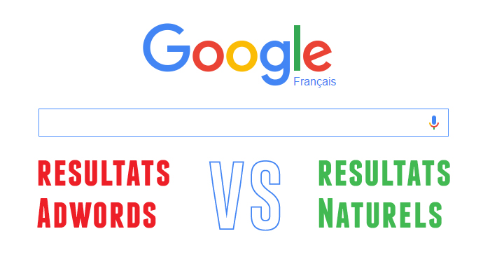liens google adwords vs SEO