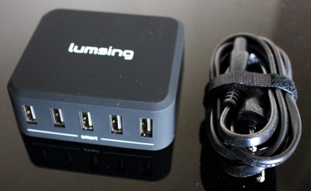 lumsing chargeur 5 ports USB