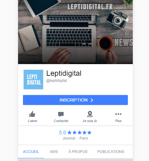 nouveau design page facebook mobile