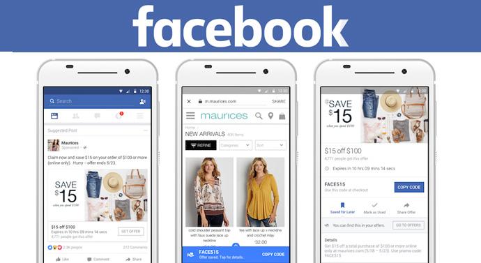 offres facebook