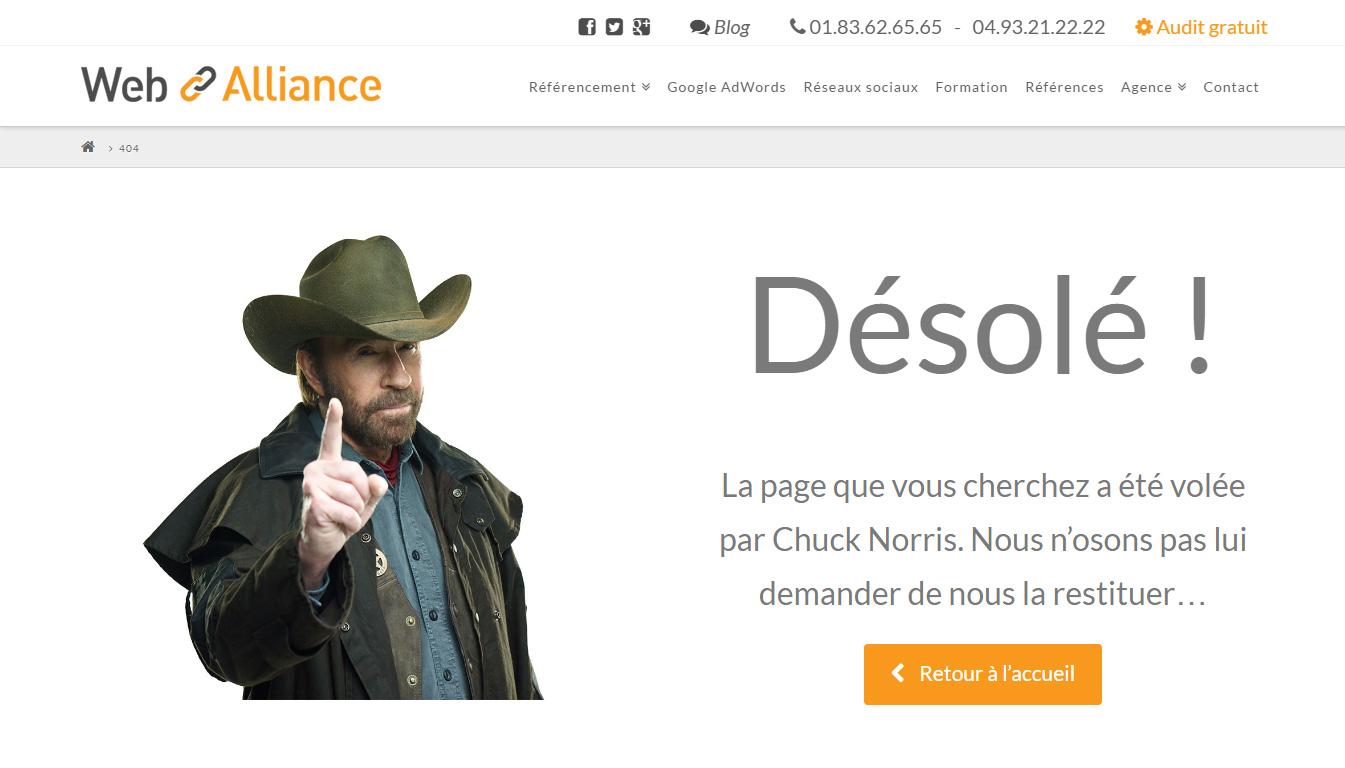 404 Chuck Norris