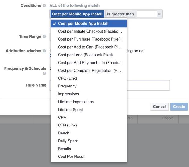 conditions règles gestion publicités facebook