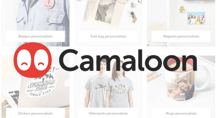 personnalisation objets camaloon