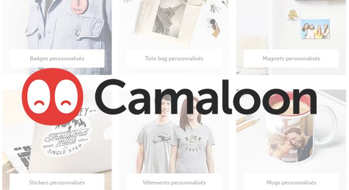 personnalisation objets camaloon