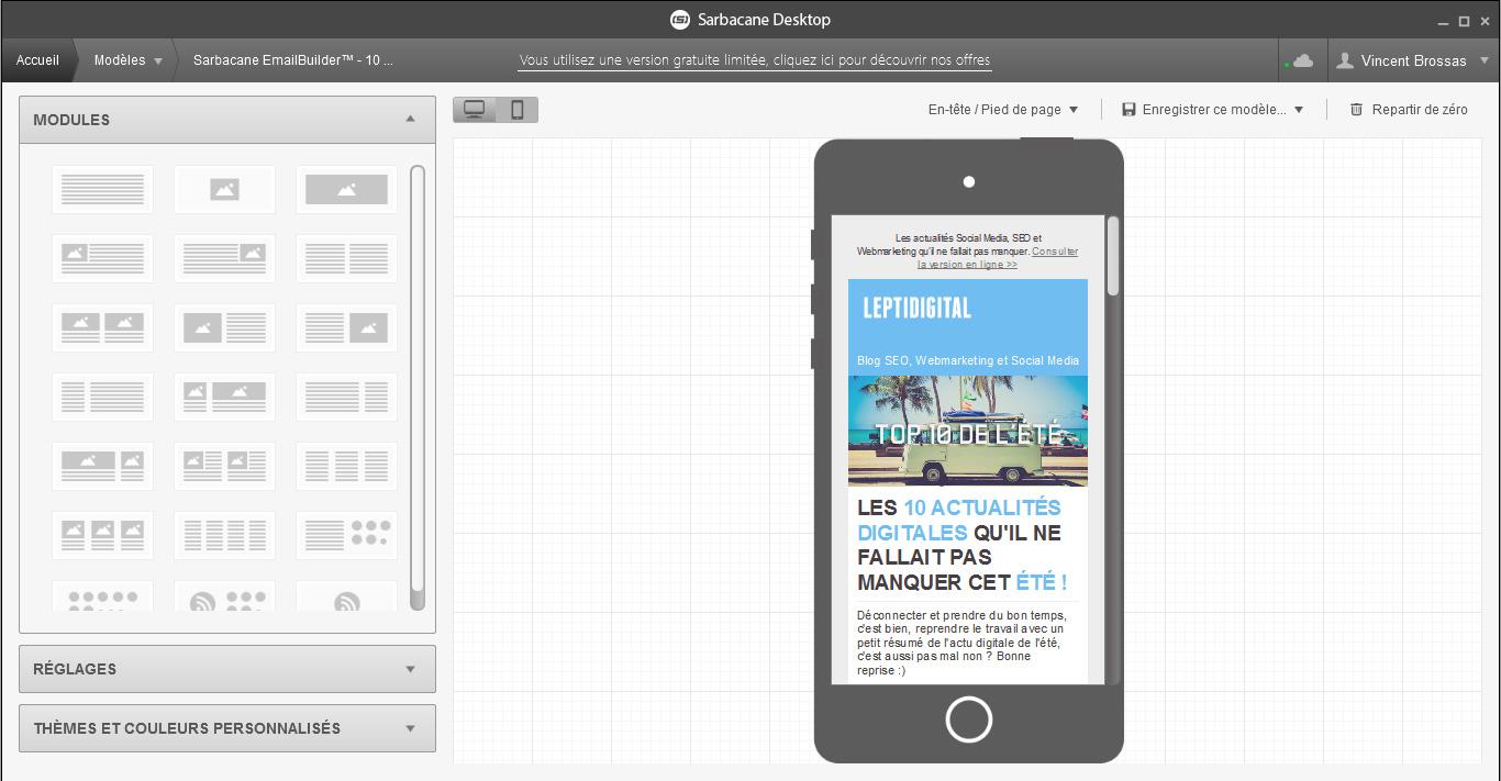 responsive emailing Sarbacane-desktop
