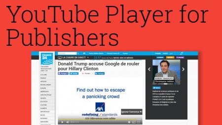 YouTube Player pour les Publishers : une nouveauté pour quels avantages ?