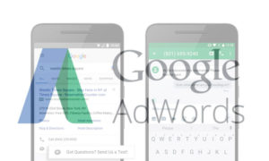click to message google adwords