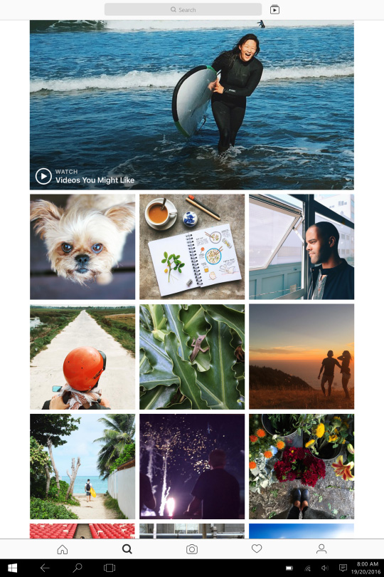 instagram application windows 10