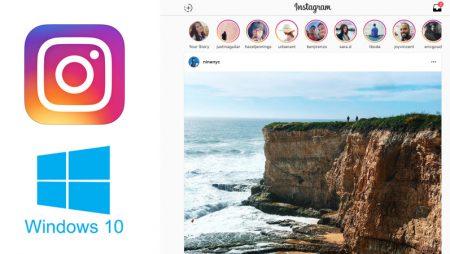 Instagram arrive sur les tablettes Windows 10 ! Voici ce que ça donne.