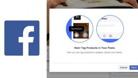 L'identification de produits arrive sur les pages Facebook ! Qu'est-ce que c'est ?