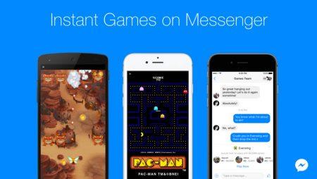 Jouer à PAC MAN et de nombreux autres jeux sur Facebook Messenger, c'est désormais possible !