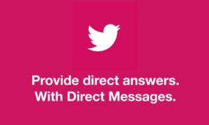 twitter direct answers