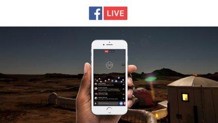 Vidéo Live à 360 degrés : la toute première publiée sur Facebook !