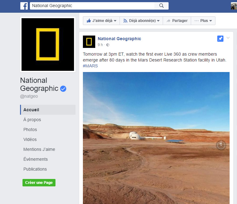 facebook live 360 national geographic