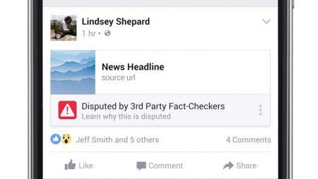 Fausses informations / actualités sur Facebook : 2 nouveautés en test !