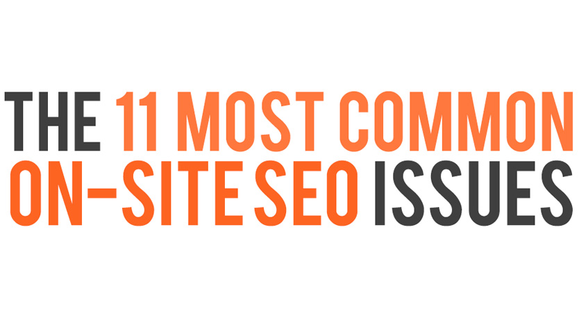 infographie seo on site