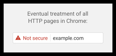 not secure https google chrome