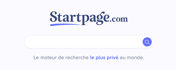 startpage alternative google