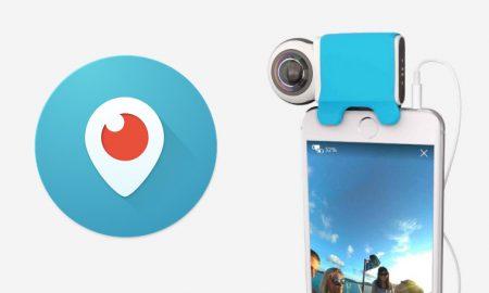 Twitter Periscope Live Video 360