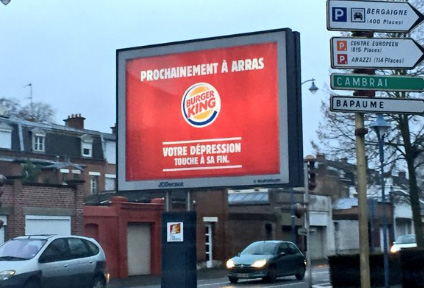 burger king arras