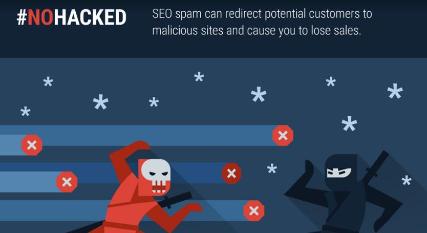 Le SPAM SEO serait l'une des principales raisons de hacking d'un site !
