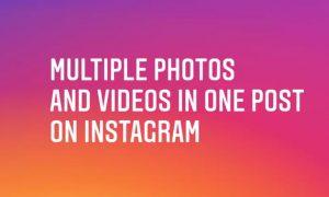 créer diaporama instagram
