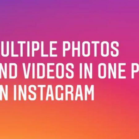 Comment créer un diaporama de photos et vidéos sur Instagram ?