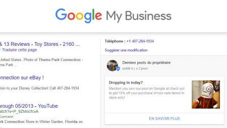 Google My Business : la mise en avant d'une «offre à la une» en test !