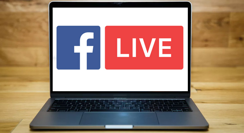 facebook live ordinateur