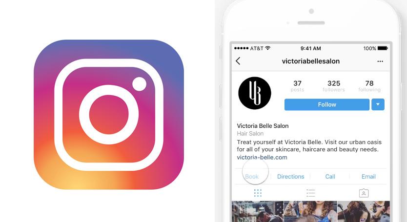 réservation rendez-vous instagram