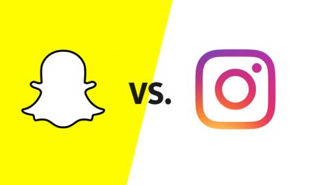 snapchat VS instagram