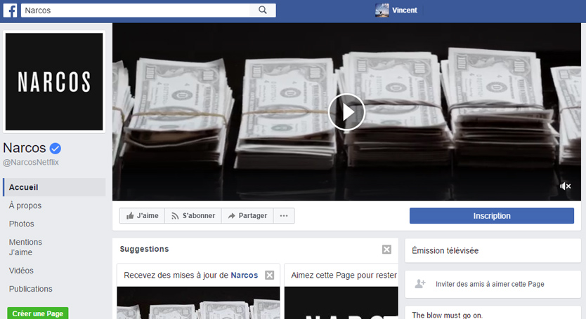 couverture video page Facebook