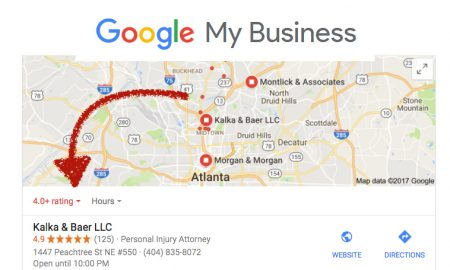Google my Business classement