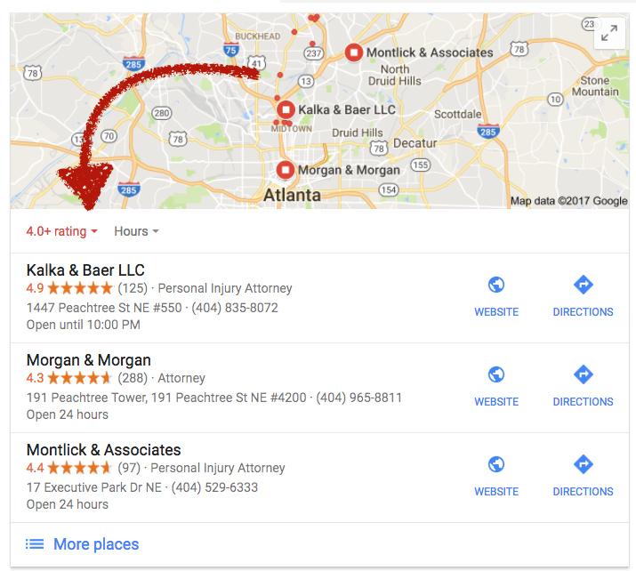 google my business classement-entreprises