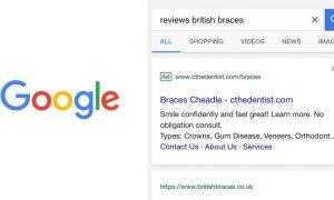 google URL haut résultat