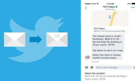 nouveauté localisation Twitter