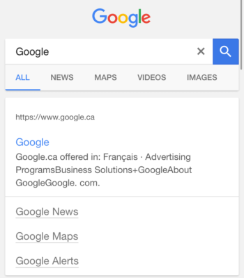 google test 7